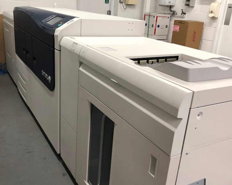 Upgrading all the time: our new piece of digital print kit from Xerox