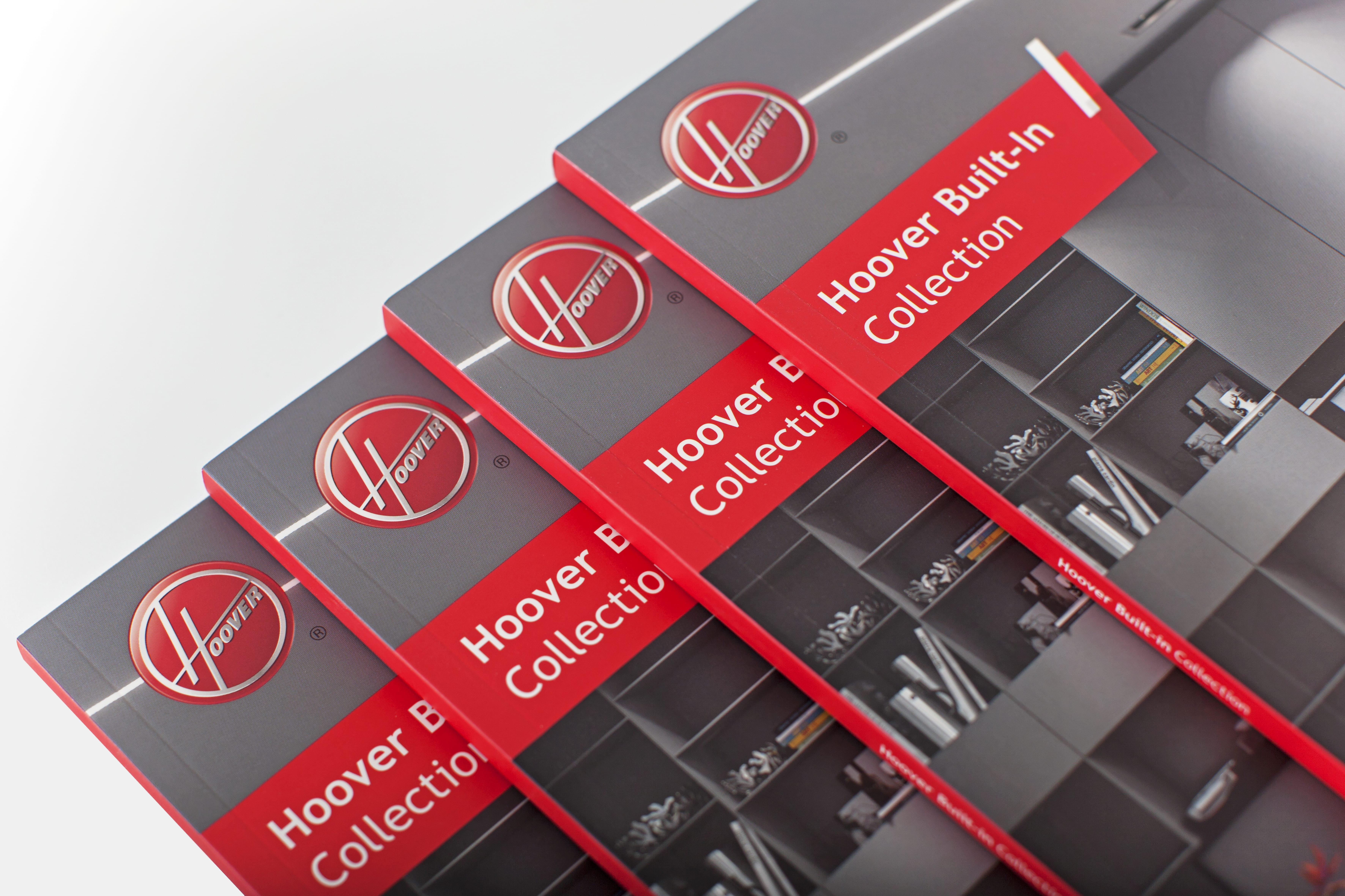 4 Hoover brochures