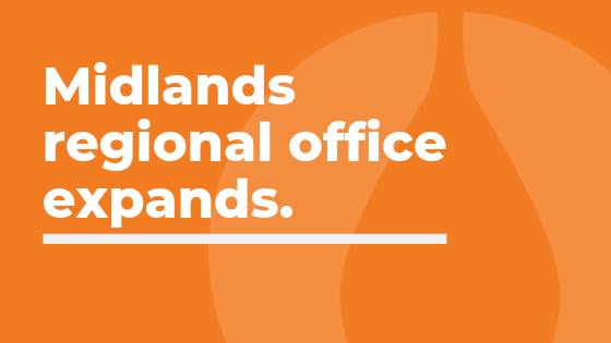 Midlands regional office expands