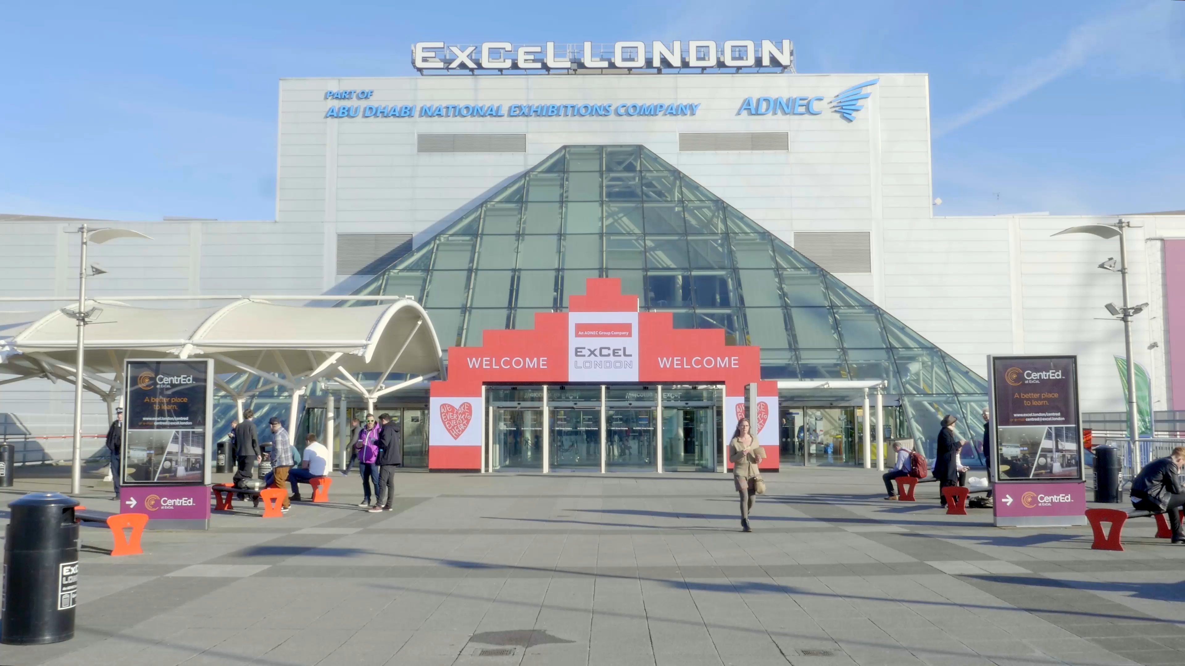 ExCeL London entrance