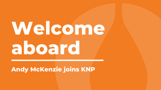 Welcome aboard Andy McKenzie