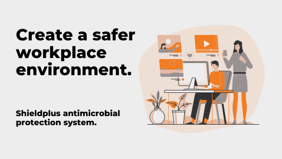 Create a safer workplace environment with Shieldplus