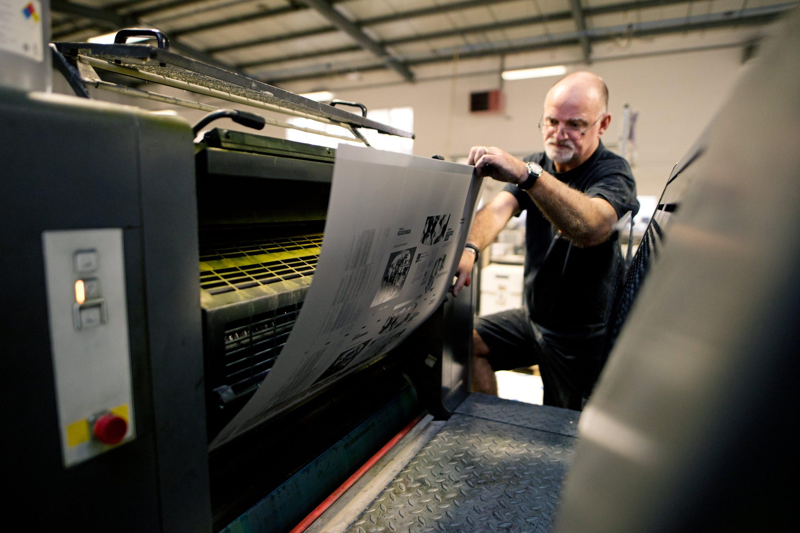 Litho printing plate
