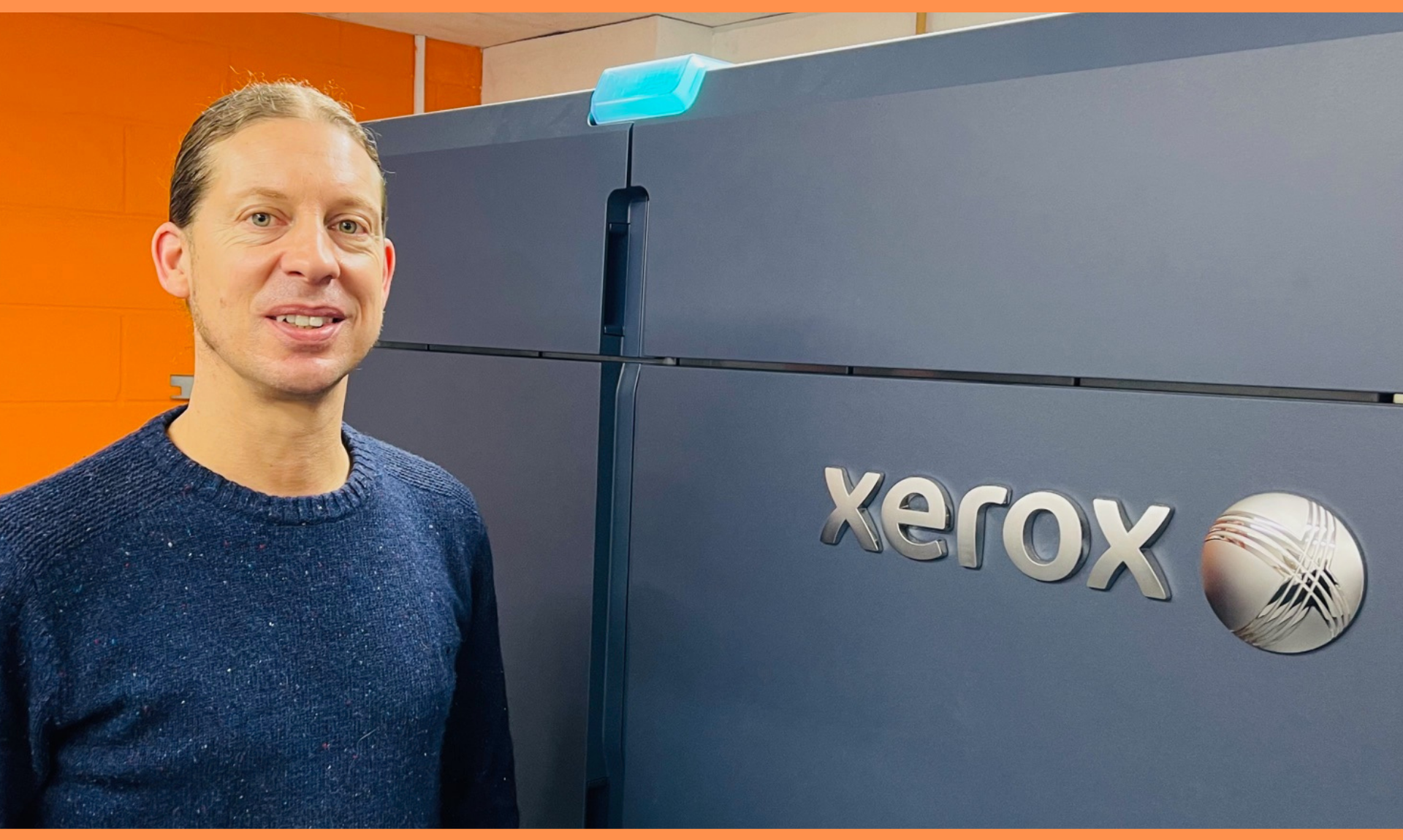 KNP | Laurie Allen, Print Finishing Manager by Xerox Iridesse
