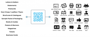 KNP | Connected print QR code examples